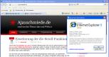 Internet Explorer 8 - Start