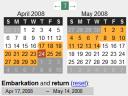 Timeframe - Prototype-Kalendar