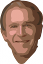 George Bush in CSS